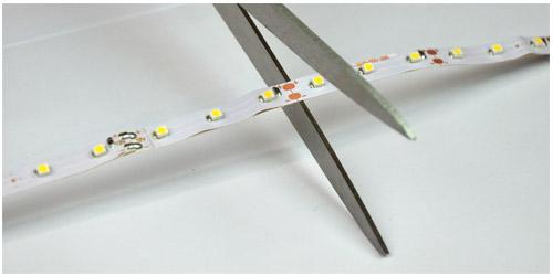 LED nauhan asennus – kuvallinen ohje  Valotorni