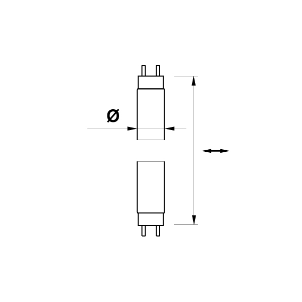 Saas LED-liitäntälaite highline - STRIP POWER 18W/12V/IP65