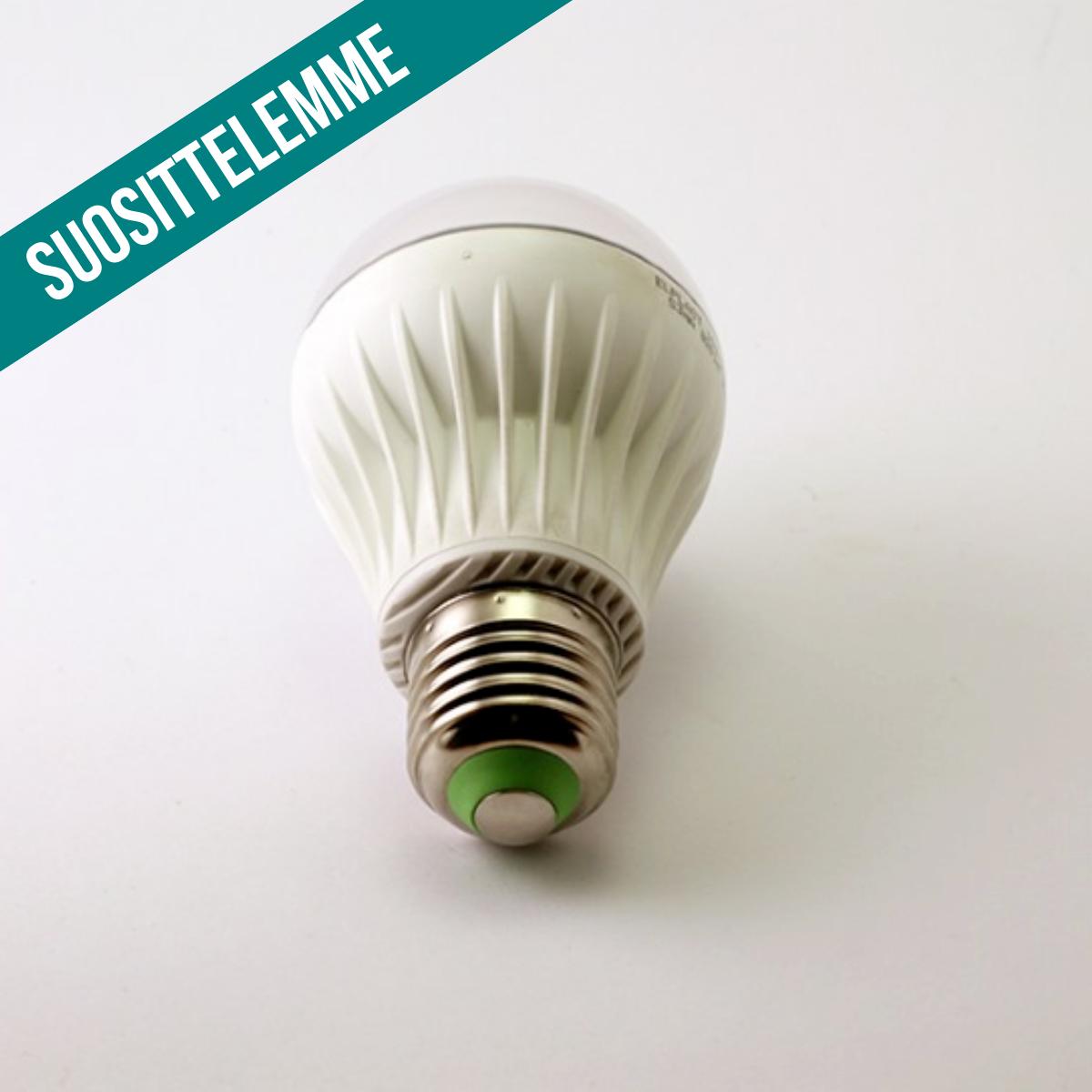 Summershine Slim kirkasvalolamppu päivänvalolamppu LED 10.000 luksia valkoinen