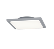 Trave kattovalaisin LED IP54 18W harmaa