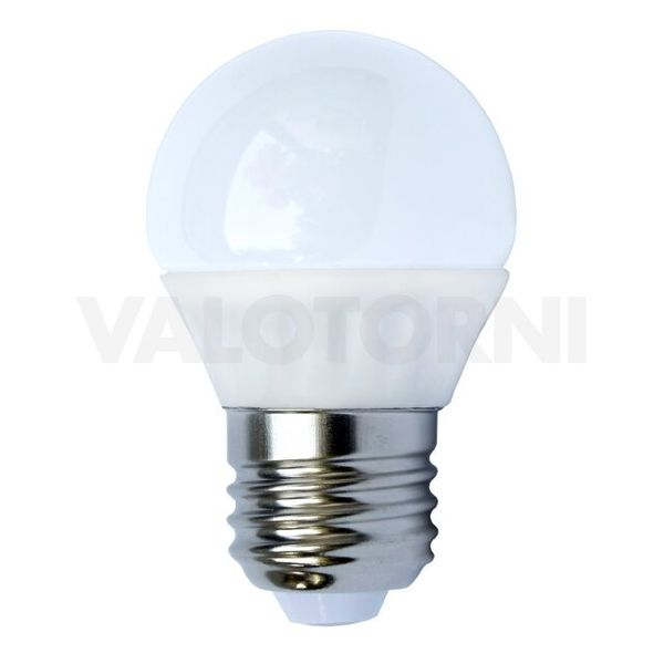 LED Mainoslamppu G45 E27 3W 3000K