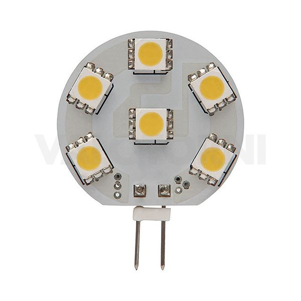 LED6 SMD G4-WW LED-lamppu
