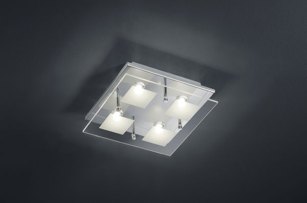 Piazza kattovalaisin 4-os. SMD-LED 4x4,5 W